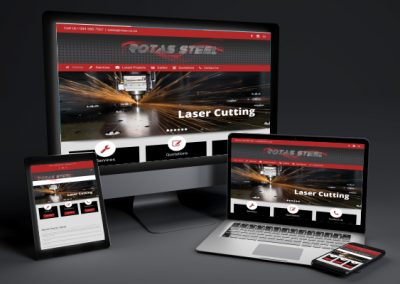 Rotas Steel – Web Design